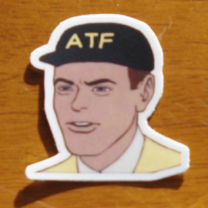 atf guy 1 sticker